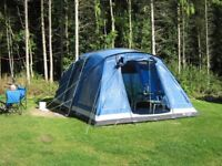 Outwell Magic 5-man tent with carpet and footprint
