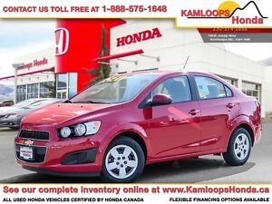 2016 Chevrolet Sonic LS - Small Car Capable of Everyday Needs