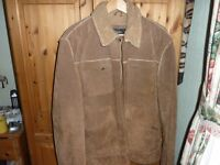 Mens' Large Next Sheepskin jacket in perfect condition