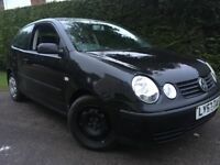 2003 Volkswagen polo 1.2 Manual low mileage service history and mot drives very well