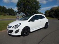 VAUXHALL CORSA 1.2 LIMITED EDITION WHITE NEW SHAPE 2012 ONLY 61K MILES BARGAIN £2950*LOOK*PX/DELIVER