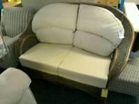 Wickerwork sofa #24708 £69