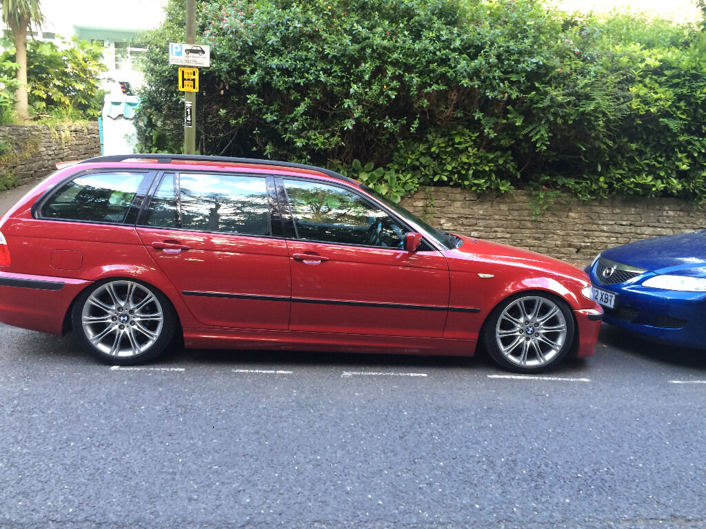 2003 03 bmw m sport 320d sport touring facelift e46 imola red in bournemouth dorset gumtree. Black Bedroom Furniture Sets. Home Design Ideas