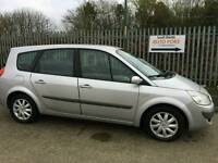 2008 57 renault grand scenic diesel automatic 7 seater