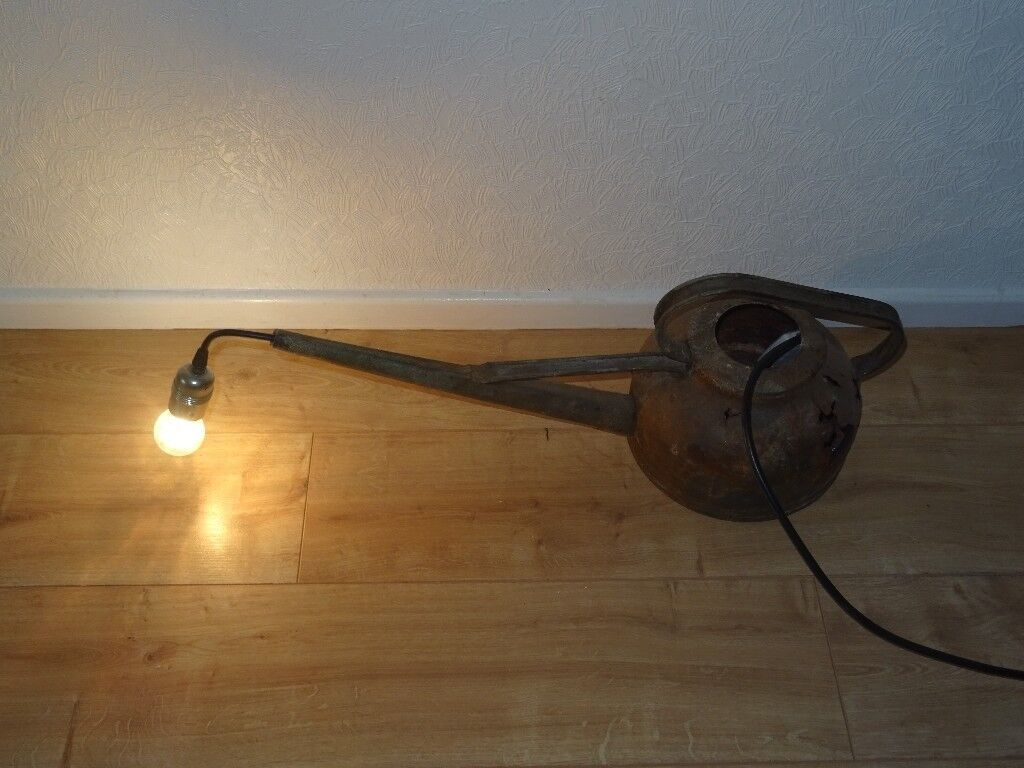 info for dbd9c 916fa rustic lighting . rustic watering can light .kilner type hanging ...