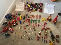 Power rangers very large collection