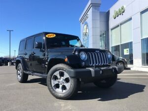 2017 Jeep WRANGLER UNLIMITED Sahara NAVIGATION 4x4 ONLY $113* We