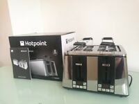 BRAND NEW - HOTPOINT 4 SLOT Digital Toaster