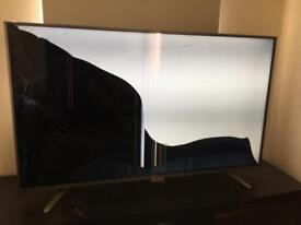 "Hisence 50"" smart 4K tv spares or repairs"