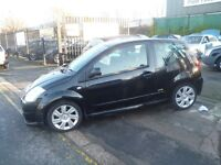 Citroen C2 VTR Sensodrive Auto,1.6 cc 3 dr hatchback,2 keys,clean tidy car,runs and drives very well