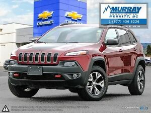2015 Jeep Cherokee Trailhawk**Leather, Panoramic Sunroof, NAV**