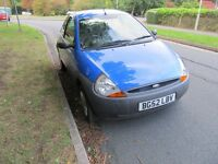ford KA 56000 miles 2002 in very nice condition inside and out very well looked car MOT June 2017