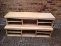 Ikea long pine TV/coffee tables x 2 £15 each