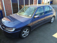 Peugeot 306 XSi for repair or spares