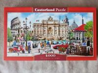 Jigsaw Puzzle Castorland 4000. Used only once.