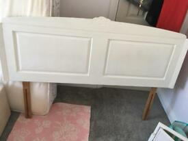 King size head board shabby chic