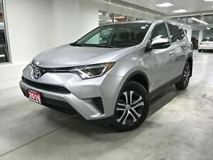 2016 Toyota RAV4 LE, AWD, PWR GROUP, ONE OWNER, NO ACCIDENTS, FU