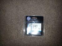 HP Printer ink- 343 Tri colour - un-opened