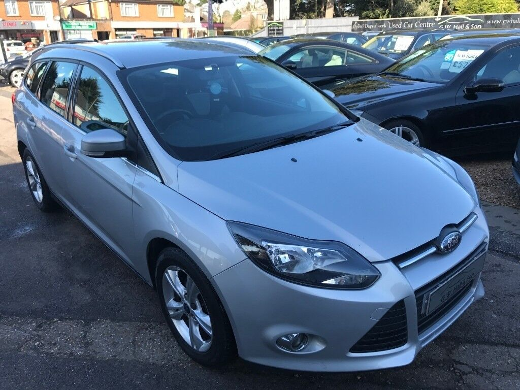 2012/12 FORD FOCUS 1.6 TDCi ZETEC 5DR ESTATE, 2 OWNERS,SERVICE HISTORY, £20  PER YEAR ROAD TAX