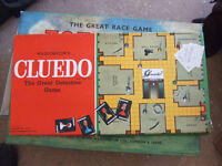 Cluedo, 1965 - collector's English board game