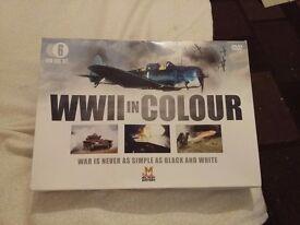 World war II in colour dvd box set
