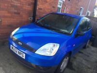 Cheap Blue Small Ford Fiesta Car 3 Door