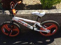 Boys Samurai Spike HC Range BMX Bike