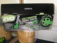 Extreme scooter from EVO, new and still in the box!!