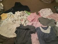 Bundle of baby dresses