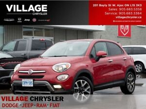 2016 Fiat 500X Trekking|Heated Seats& Steering Wheel