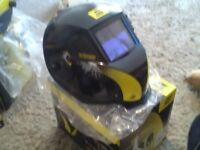 esab new tech 9-13adc plus welding helmet