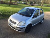Toyota Yaris Silver 1.0L VVT-I T3 5 doors Only 85,000 Miles With 10 Months MOT, Only 2 Owners