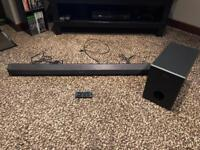 Sony 2.1 Bluetooth soundbar and subwoofer