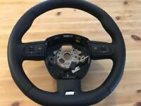 Audi A3 a4 A5 Flat bottom steering wheel