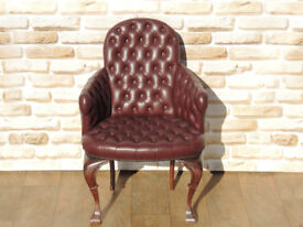 Bedroom Chesterfield Medium back chair (Delivery)