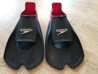 Speedo Adult BioFUSE Fin - Like new !
