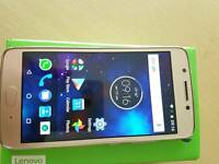 Motorola moto g5 new .gold .unlocked.boxed