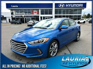 2017 Hyundai Elantra GLS Auto - Sunroof / Heated seats
