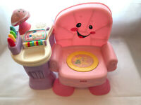 Fisher Price Laugh & Learn Pink Chair