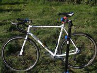 Genesis Croix de Fer 2012 60cm Steel Road/Cross/Adventure Bike, hydraulic discs, tubeless