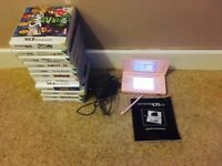 Nintendo DS Lite pink bundle- great condition