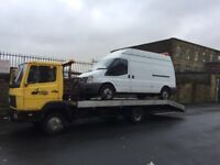 Mercedes recovery truck 817 814 lk90 3.9td recovery truck aluminium body new tyres husky winch