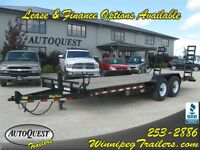 2015 Big Tex 14ET 83 x 20' Tandem Axle Equipment Trailer 14K