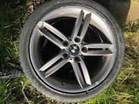 BMW 18in alloys with tyres