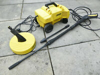 KARCHER K2.20M COMPACT PRESSURE WASHER & TOOLS