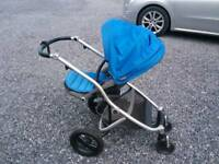 Britax Travel System Pushchair, Car seat and Carry cot