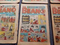 6 Beano comics