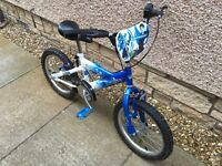 "Star Wars Clone Wars BMX style bike 16"" wheels"