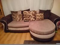 Large dfs 4 seater sofa