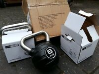 PRO FITNESS 6KG WEIGHT KETTLEBELLS - BRAND NEW & BOXED